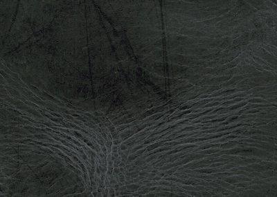 Lederboden und Lederwand BUFFALO STRUCTURE ONYX BLACK
